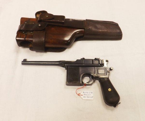 Mauser-Oberndorf C96 Kal. 7,63 x 25