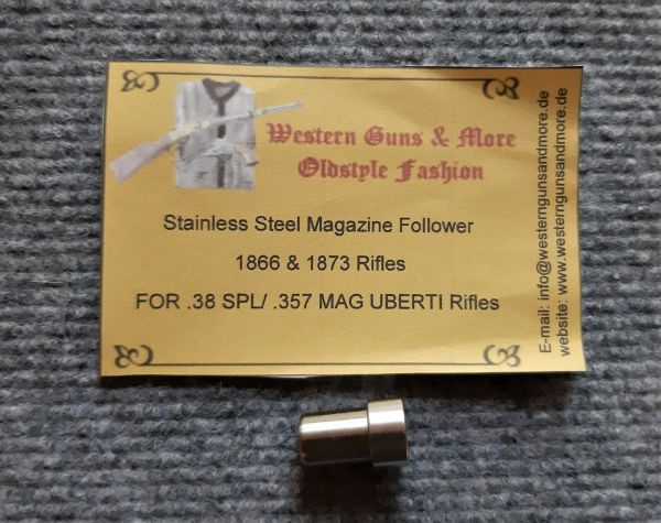 Stainless Steel Magazin Follower Uberti Small Caliber