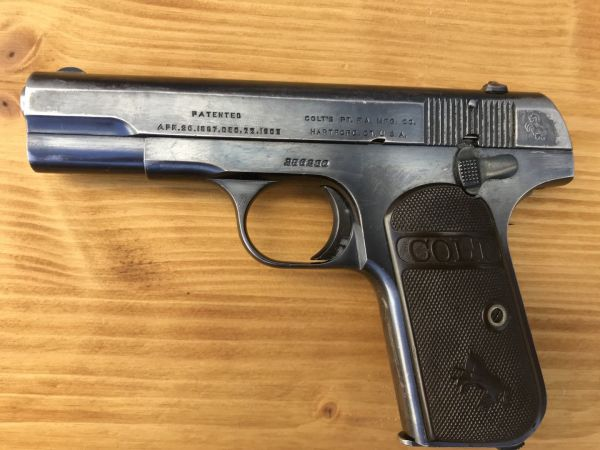 Colt Automatic 1903 Hammerless