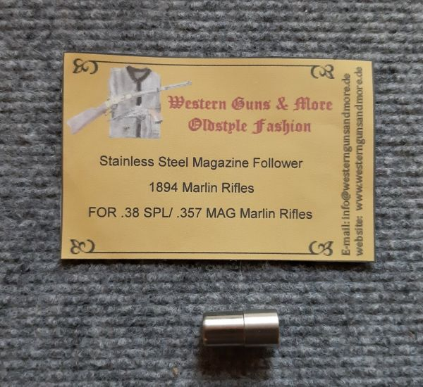 Stainless Steel Magazin Follower Marlin 1894