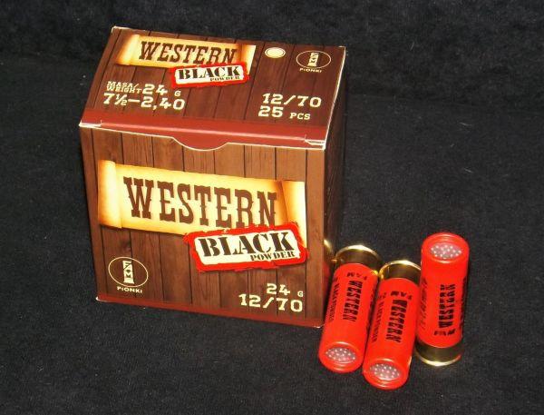 Blackpowder Westernschrot 12/70