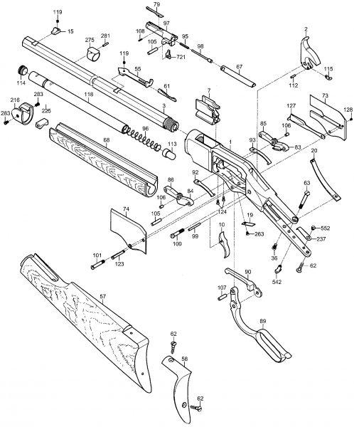 Magazine Tube Bearing
